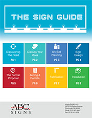ABC Signs - Sign Guide