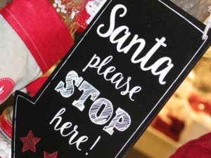 Santa Please Stop Here!