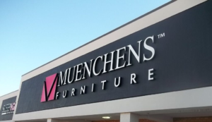 Muenchens Furniture Sign