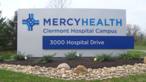 Mercy Health sign