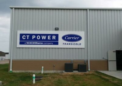 CT Power / Carrier Business front